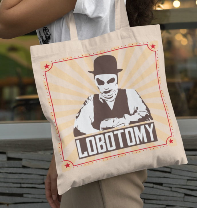 Lobotomy Unisex Tote Bag