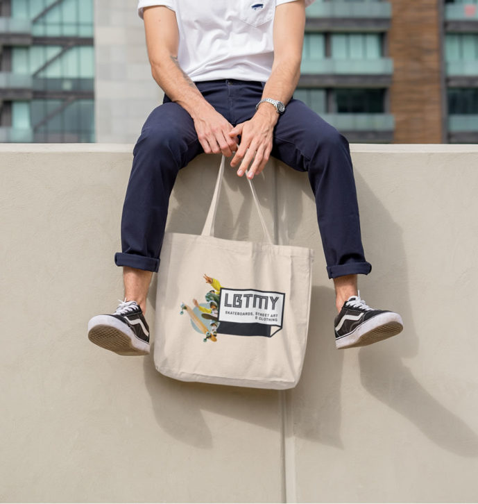 Lobotomy Tote Bag – Skateboard