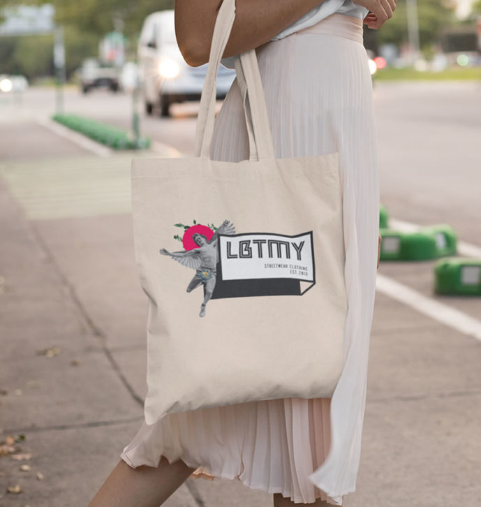 Lobotomy Tote Bag Runner P